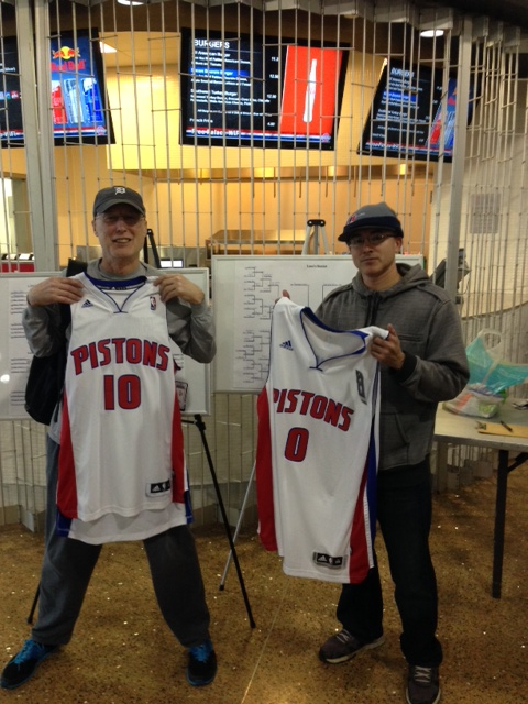 Pistons 15 3rd Place