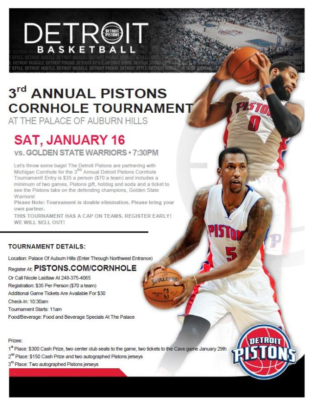 3rd annual Pistons tourney